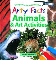 Cover image for Animals & art activities