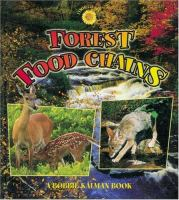 Cover image for Forest food chains