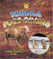 Cover image for Tundra food chains