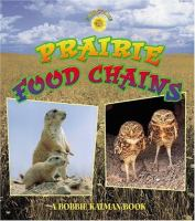 Cover image for Prairie food chains