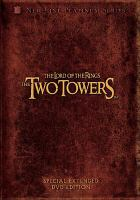 Cover image for The lord of the rings. Part 2 [videorecording DVD] : The two towers (extended edition)