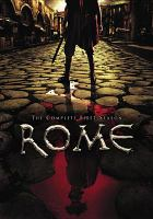 Cover image for Rome. Season 1, Disc 1