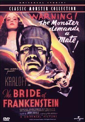 Cover image for Bride of Frankenstein [videorecording DVD]