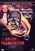 Cover image for Bride of Frankenstein [videorecording DVD]