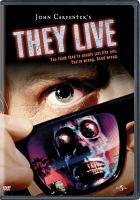 Cover image for They live [videorecording DVD]