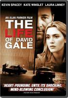 Cover image for The life of David Gale