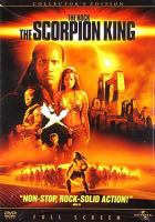 Cover image for The Scorpion King