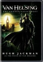 Cover image for Van Helsing (animated) the London assignment
