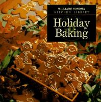 Cover image for Holiday baking