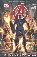 Cover image for Avengers. Vol. 1 [graphic novel] : Avengers world