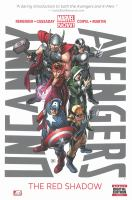 Cover image for Uncanny Avengers. Vol. 1 [graphic novel] : The red shadow