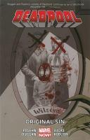 Cover image for Deadpool. Vol. 6 [graphic novel] : Original sin