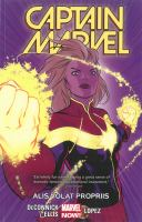 Imagen de portada para Captain Marvel. Volume 3, [graphic novel] : Alis volat propris