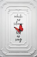 Imagen de portada para White as silence, red as song
