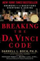 Imagen de portada para Breaking the da Vinci code : answers to the questions everybody's asking