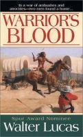Imagen de portada para Warrior's blood