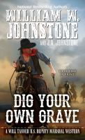 Cover image for Dig your own grave