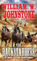 Cover image for The backstabbers. bk. 2 : Red Ryan western series