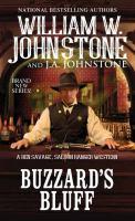 Cover image for Buzzard's Bluff. bk. 1 : Ben Savage, Saloon Ranger western series