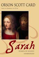Cover image for Sarah Women of Genesis series