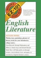 Cover image for English literature