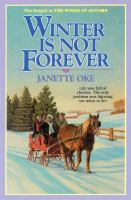 Cover image for Winter is not forever