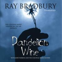 Cover image for Dandelion wine