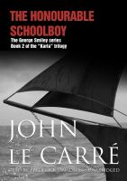 Imagen de portada para The honourable schoolboy