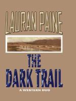 Cover image for The dark trail : a Western duo