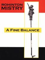 Cover image for A fine balance