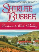 Cover image for Return to Oak Valley