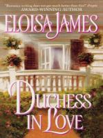 Cover image for Duchess in love