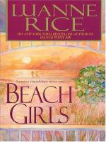 Cover image for Beach girls. bk. 1 [large print] : Hubbard's Point series