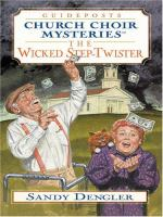 Cover image for The wicked step-twister : Church Choir series