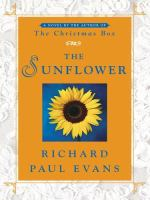 Cover image for The sunflower [large print]