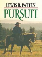 Cover image for Pursuit [large print]