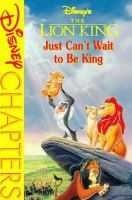 Cover image for Just can't wait to be king