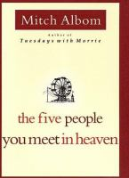 Cover image for The five people you meet in heaven