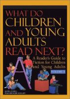 Cover image for What do children and young adults read next? : a reader's guide to fiction for children and young adults, Volume 5