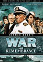 Imagen de portada para War and remembrance. Complete mini-series