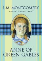 Cover image for Anne of Green Gables. bk. 1 (Read by Barbara Caruso) : Anne of Green Gables series