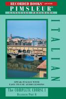Cover image for Italian I the complete course, beginners/part A ; part B.
