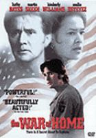 Cover image for The war at home [videorecording DVD]