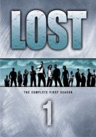 Cover image for Lost. Season 1, Complete [videorecording DVD]