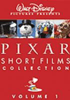 Cover image for Pixar short films collection. Volume 01 [videorecording DVD].