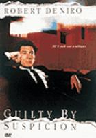 Cover image for Guilty by suspicion