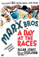 Cover image for Marx Bros. in a day at the races [videorecording DVD]