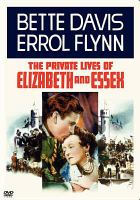 Cover image for The private lives of Elizabeth and Essex