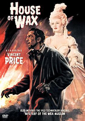 Cover image for House of wax [videorecording DVD] ; Mystery of the wax museum