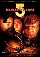 Cover image for Babylon 5. Season 1, Disc 1